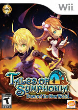 Tales of Symphonia: Dawn of the New World WII New Nintendo Wii