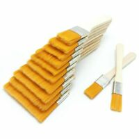 12 Pcs Wooden Oil Painting Brushes Set Artist Acrylic Watercolor Paint Tool N1Y