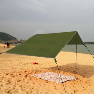 "ARAER Tent Tarp, Hammock Rain Fly, 114"" x 114""/9.5ft, 600g/1.32lbs, 2000PU Water"