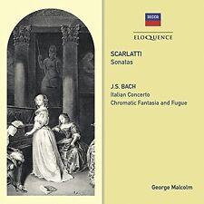 George Malcolm - Scarlatti: Sonatas / Bach: Italian Cto / Chromatic [New CD] Aus