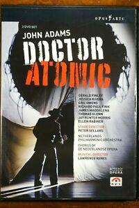 Doctor Atomi - John Adams  - DVD, As New
