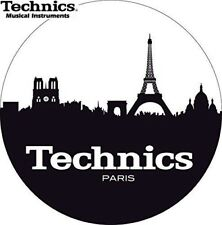 Technics 60613 PAIR Slipmat Skyline Paris LOGO High Quality Original / Brand New