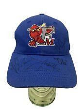 Fargo-Moorhead RedHawks Adjustable Hat Cap Autographed