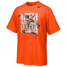 Nike San Francisco Giants World Series NLCS Champs Team shirt MLB baseball men