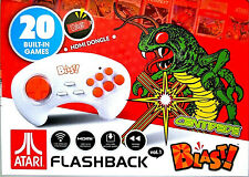 Atgames Atari Flashback Blast! Centipede Dodge 'Em & More! 20 Built-In Games