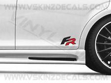 Seat FR Premium Cast Skirt Decals Stickers Leon FR Cupra Ibiza Altea SC ST Mii