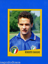 AZZURRI CON IP ITALIA - Merlin - Figurina-Sticker n. 44 - ROBERTO BAGGIO -New