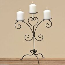 Iron Candlesticks with Floor