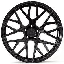 "20"" Rohana RFX10 Gloss Black Concave Wheels for Mercedes"