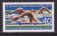 Germany Berlin 9N419 MNH OG 1978 3rd World Swimming Championships at Berlin