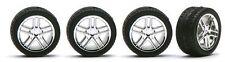 Pegasus 1242 x 1/24-1/25 Allantes Chrome Rims w/Low Profile Tires (4)