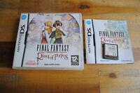 Jeu FINAL FANTASY RING OF FATES pour Nintendo DS 3DS 2D DSI XL