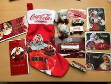 Coca Cola Sammlung Autos Metallschilder Eisbären Busse Weihnachten Santa Claus