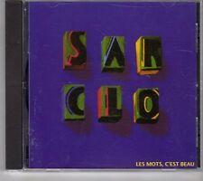 (GK357) Sarclo, Les Mots, C'est Beau - CD