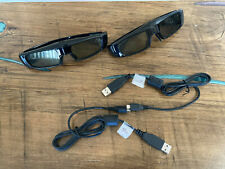 2 Panasonic 3D TY-ER3D4MU Glasses