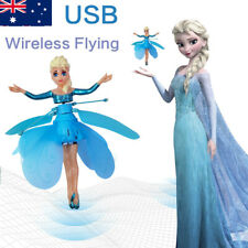 Frozen Princess Flying Fairy Magic Infrared Induction Control Toy Kids Gift - AU