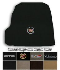 2005-2011 Cadillac STS 1pc Velourtex Carpet Trunk Mat - Choose Color & Logo