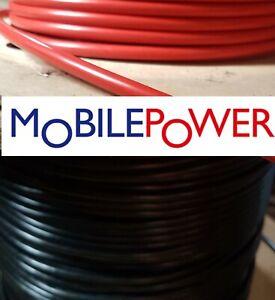16mm² Battery Cable Starter Inverter Weld 110a 12v 24v Red or Black By the Metre