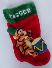 "Disney Santas Best Tigger Christmas Stocking 16"""