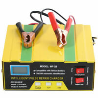 12V / 24V 12A Auto-Batterieladegerät mit Starthilfe  Akku PKW Batterielader