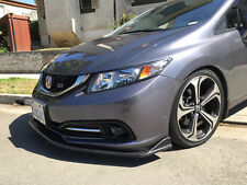 13-15 9th Gen Honda Civic 4dr Front Lip Splitter, fb6 fb2 sedan spoiler body kit