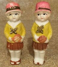"Vintage Bisque 3"" Penny Dolls/Frozen Charlotte's ~ 2 Dolls ~ marked Japan"
