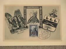 France-Scott# B284 Stamp Day FDC (Tunis  Overprint) on Card, Special Cancel
