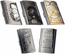 Men's Stainless Steel Business Card ID & Document Holders