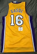 Pau Gasol Los Angeles Lakers Autograph Signed Jersey