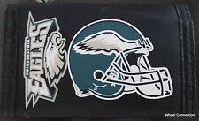Philadelphia Eagles Football Licensed NFL Billfold Wallet Nylon Trifold