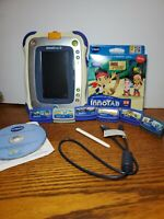 VTech InnoTab 2 Learning App Tablet LOT 7 Games,  Gel Cover, instuct video 3-6