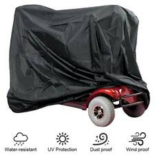 Heavy Duty Mobility Scooter Rain Cover UV Protector Waterproof Cover Storage Bag