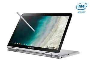 """NEW Samsung Chromebook Plus V2 12.2"""" (4GB/32GB eMMC SSD, Intel Celeron, 2-in-1)"""