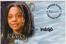 Buffy Tvs - Sea 7 - Indigo As Rona Autograph Card - A45 - NrMt