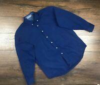 Mens Vintage Yves Saint Laurent Long Sleeve Button Down shirt size L