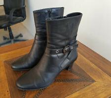 ENZO DI MARTINO Damen Stiefeletten Stiefel Schuhe Vollleder ankle boots Gr. 39,5