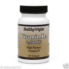VITAMINA Healthy Origins Vitamin D-3 2400iu 120 Softgels 0603573153052