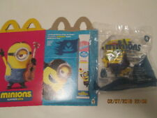 McDonalds Happy Meal Minions box and Minion toy in sealed package No. 4 New