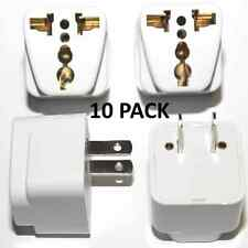 X10 Universal EU UK AU to US USA AC Travel Power Plug Adapter Outlet Converter