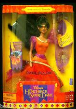 """Gypsy Dancing Esmeralda Doll  DisneyHunchback of Notre Dame NRFB """" EXC"""