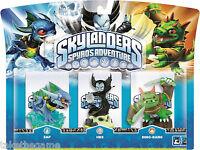 Skylanders Spyro's Adventure Triple Figures Adventure Packs - NEW SEALED