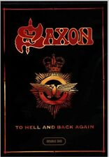 2 DVD SET SAXON TO HELL AND BACK AGAIN SEALED NEW