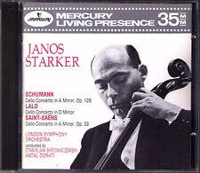Janos forte: Schumann Lalo Saint-Saens VIOLONCELLO CD dorati Mercury LIVING presence