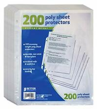 New Listingbetter Office Products Sheet Protectors 200 Piece