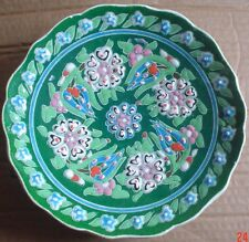 Pretty Vintage Kutahya Turkish Hand Made Wall Plate