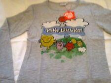 Größe 170 Mädchen-T-Shirts & -Tops mit Rundhals-Ausschnitt aus 100% Baumwolle