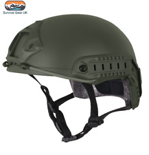 VIPER TACTICAL FAST HELMET AIRSOFT SPECIAL OPS ARMY MILITARY PAINTBALL GREEN