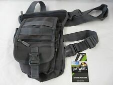 EastWest U.S.A. RT519-DCG Tactical Thigh Pack Waist Belt Leg Utility Bag-Grey