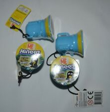 DESPICABLE ME GLOW IN THE DARK MINEEZ LOT OF 4 FREE SHIPPING !!