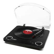 Ion Max largo juego de 3 Altavoces Estéreo Tocadiscos de conversión de velocidad-digitalizar sus registros